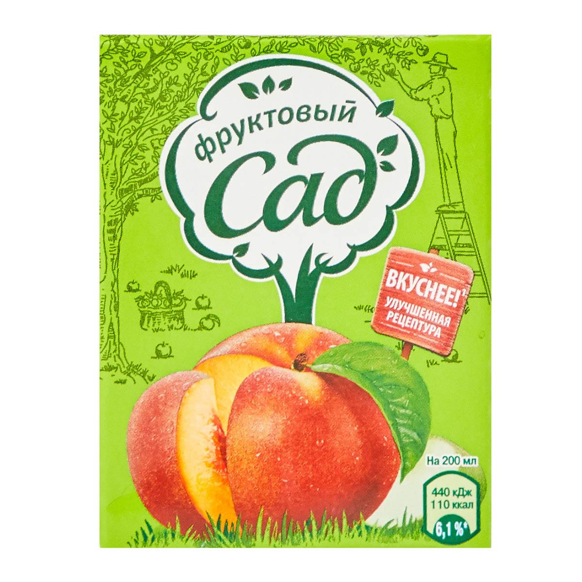 «Фруктовый сад» нектар яблоко-персик