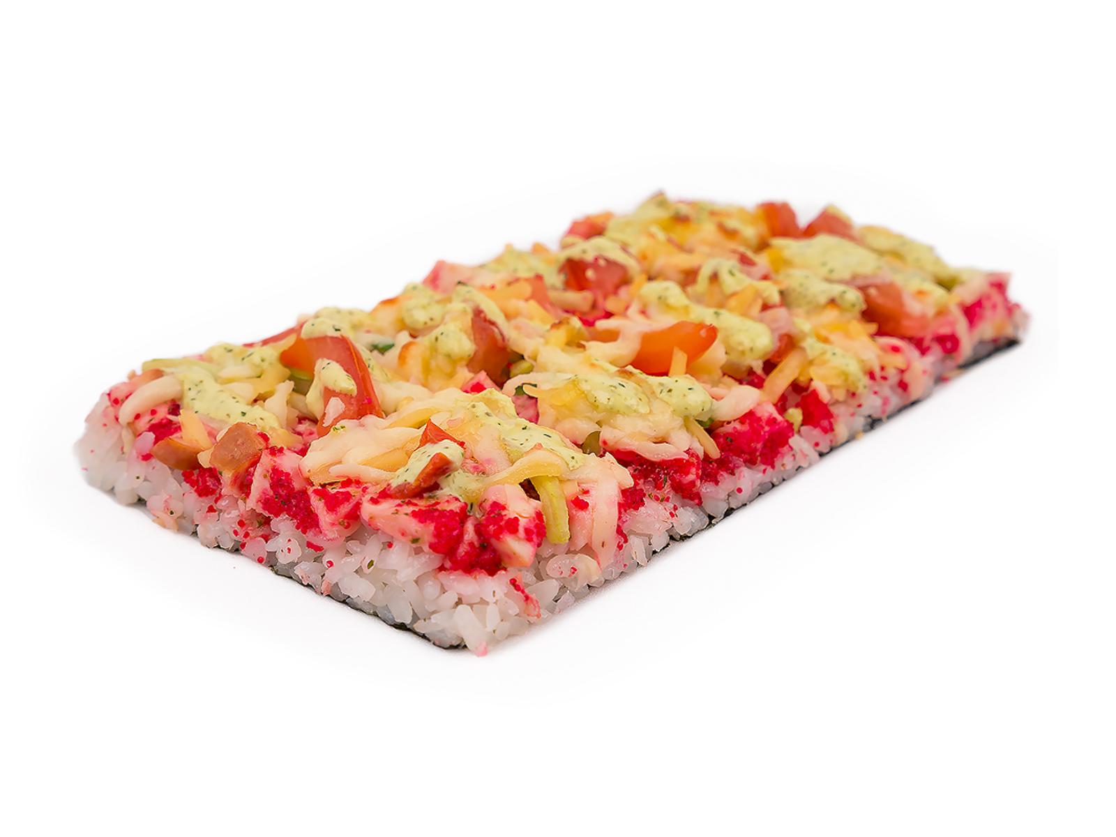 Ролл Суши пицца с курицей