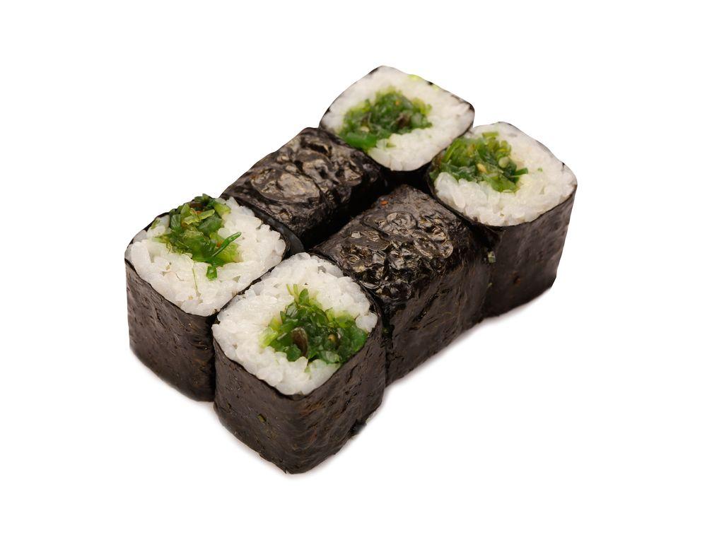 Ролл Мини маки с чука салатом