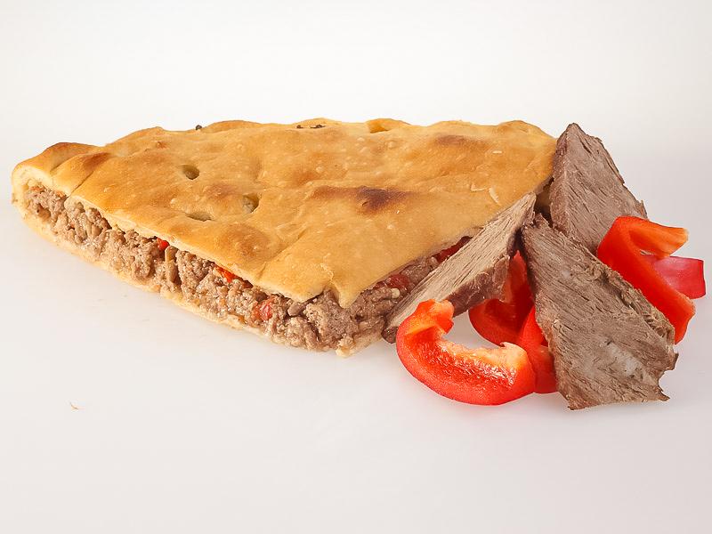 Пирог с говядиной и болгарским перцем