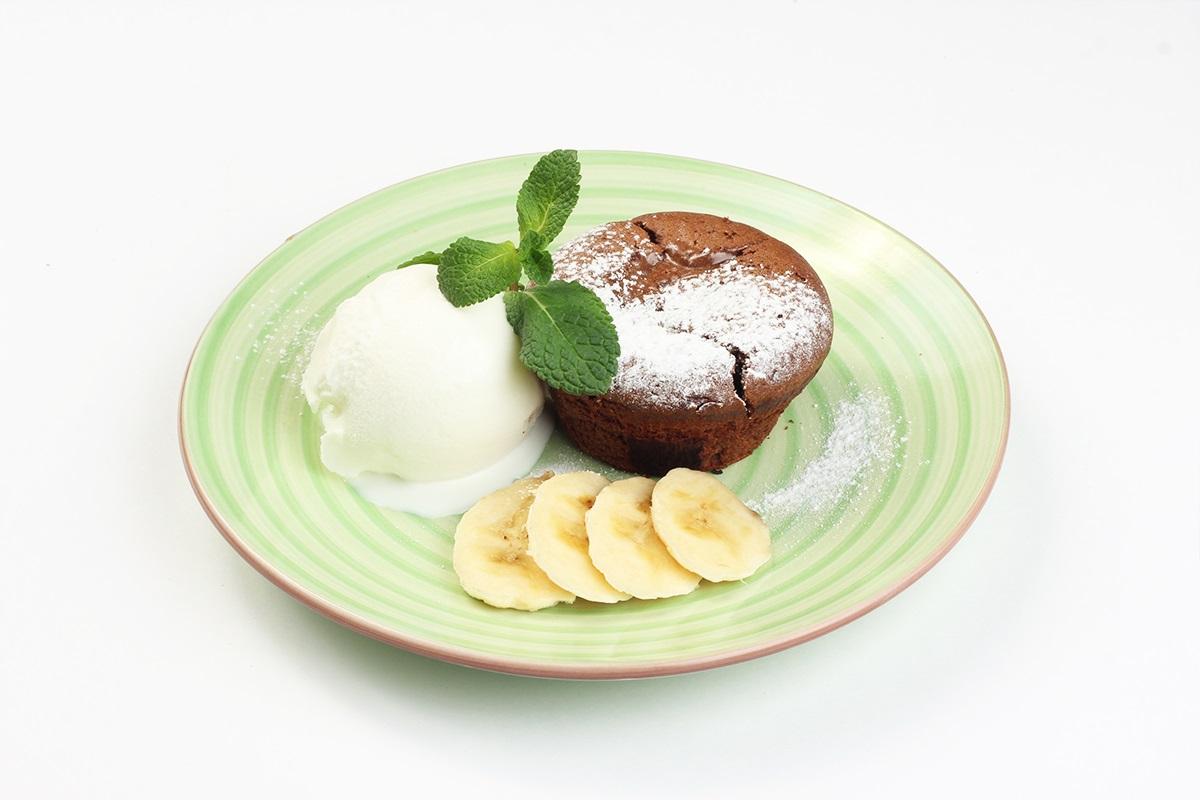 Шоколадный тортино