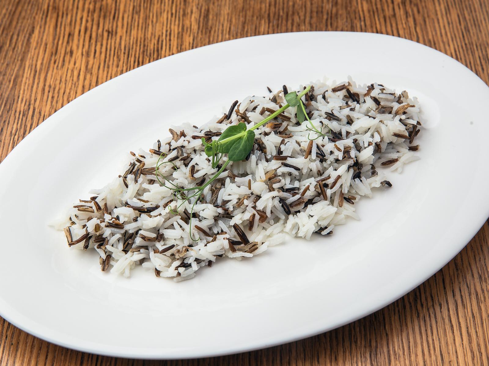 Рис басмати с диким рисом