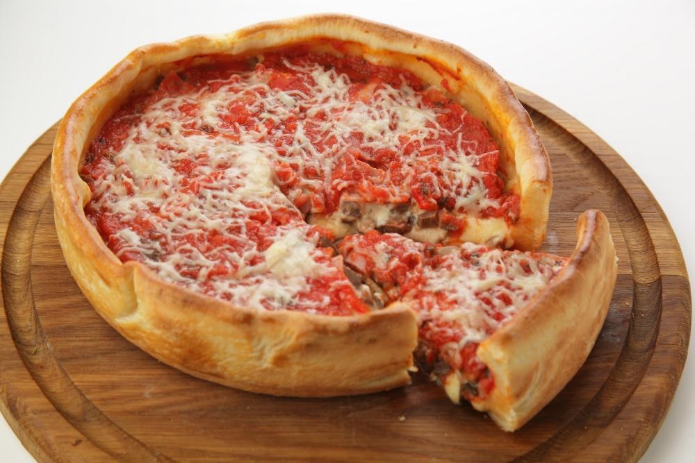 Чикагская пицца Мясной хит