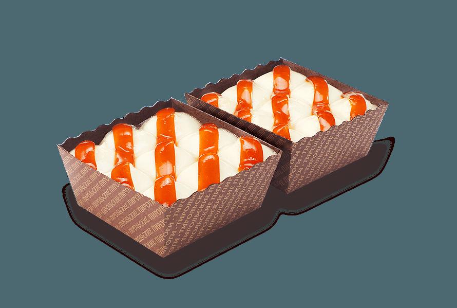 Пирожное Чизкейк-карамель