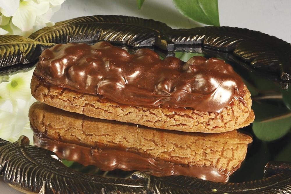Эклер Карамель-шоколад