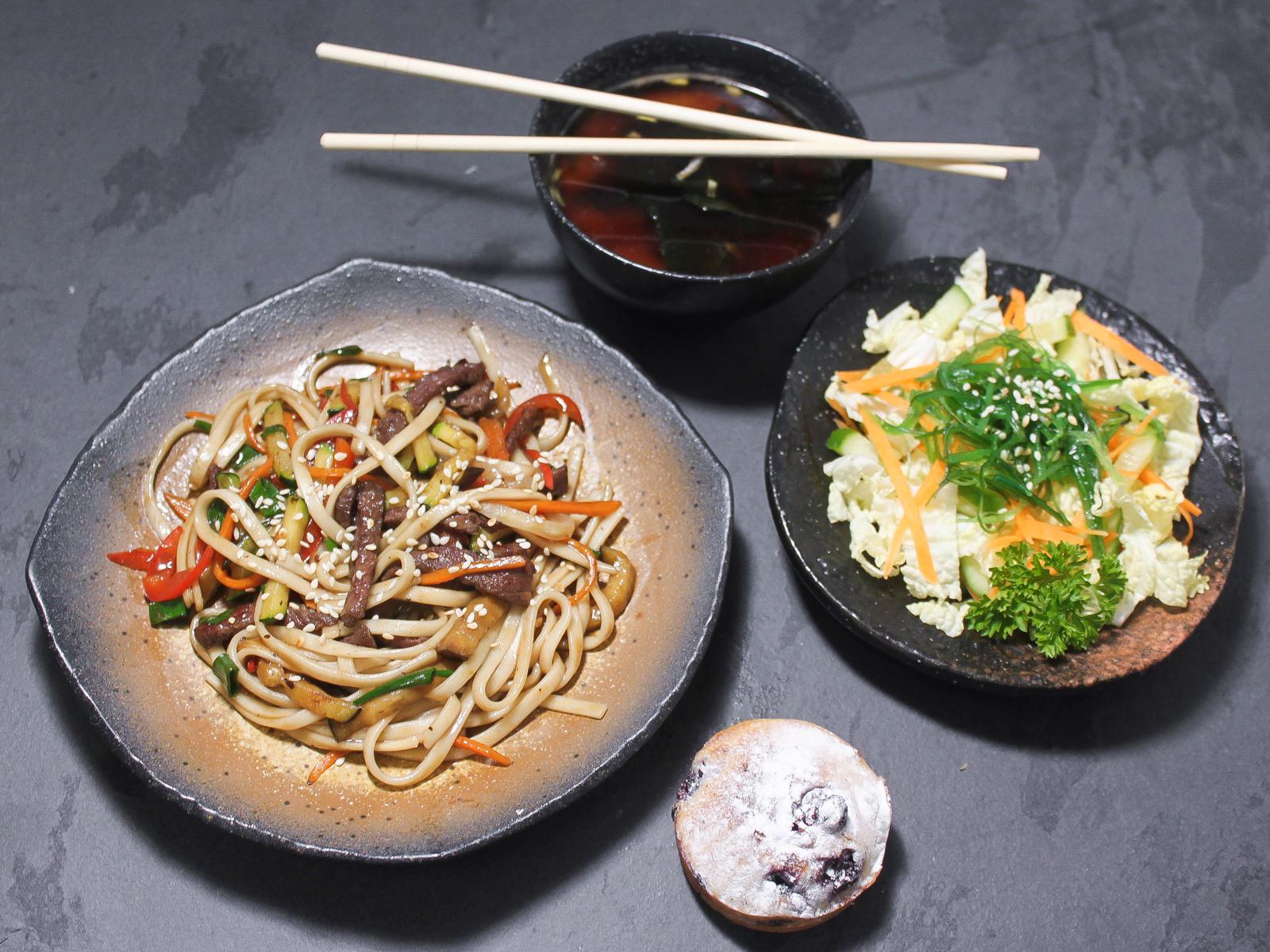 Бенто-ланч №2 с мисо супом