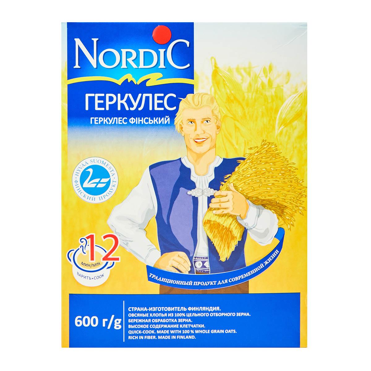 Nordic овсяные хлопья