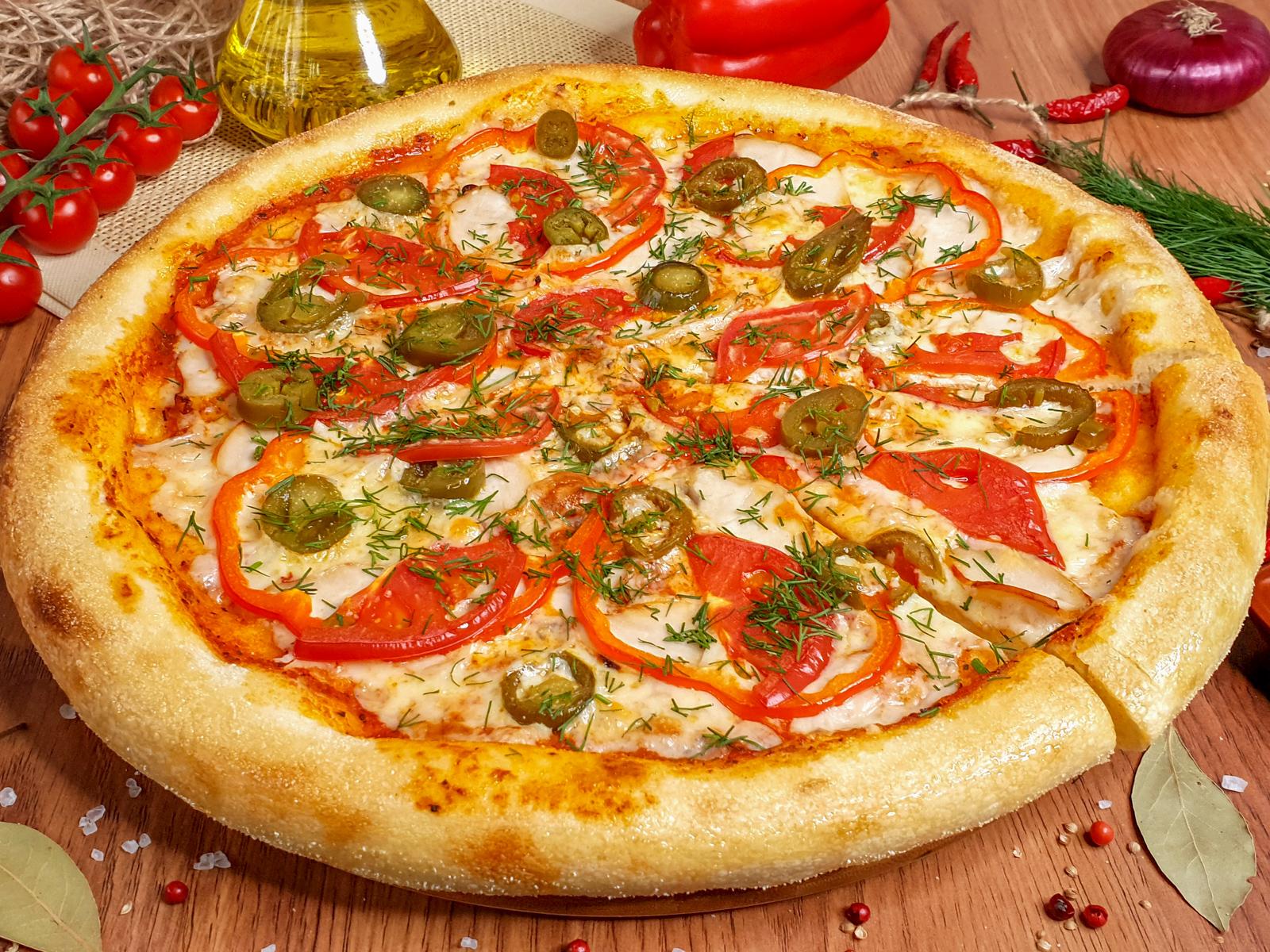 Пицца Поло Пиканта