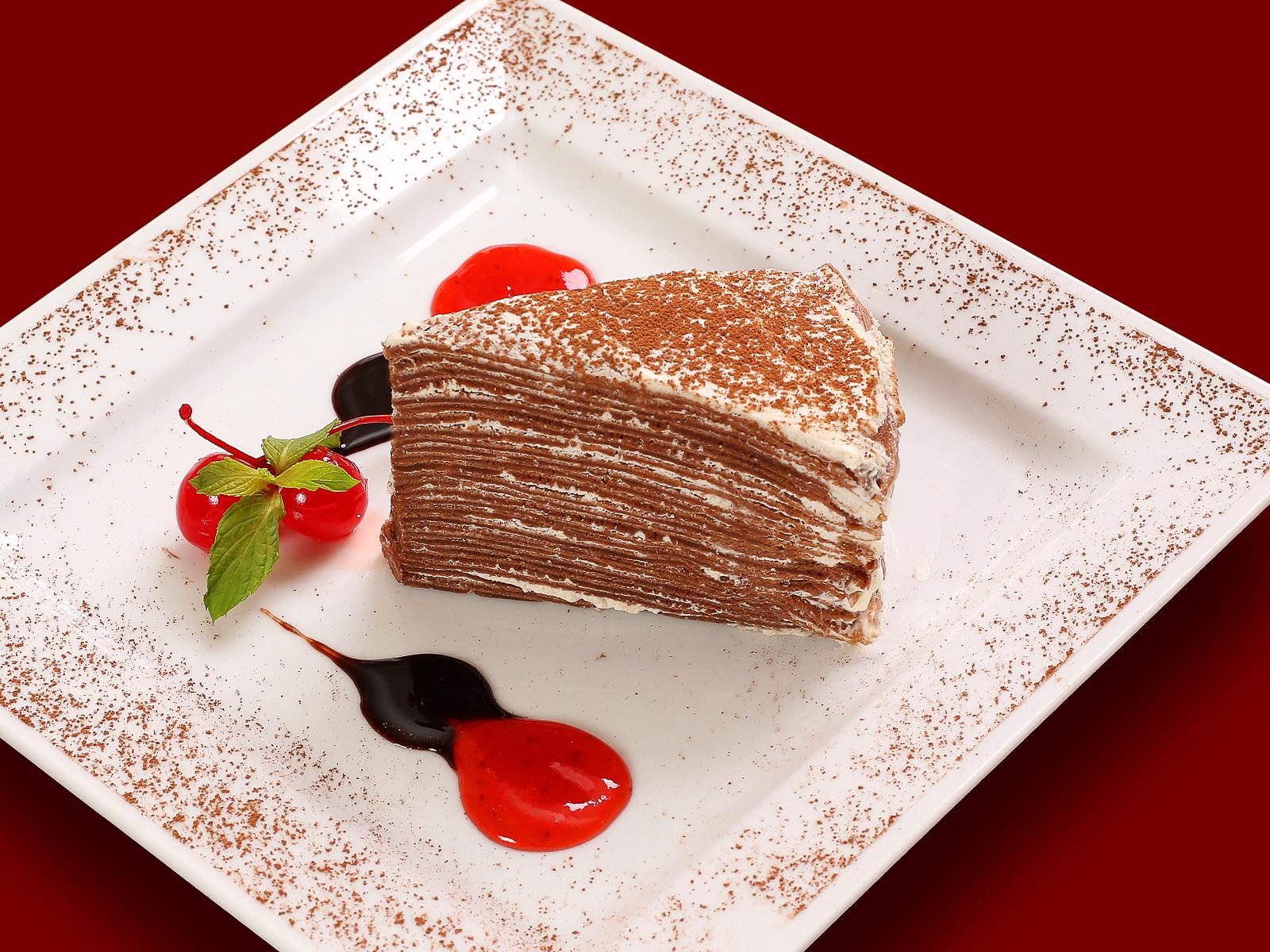 Фирменный блинный торт от Шефа