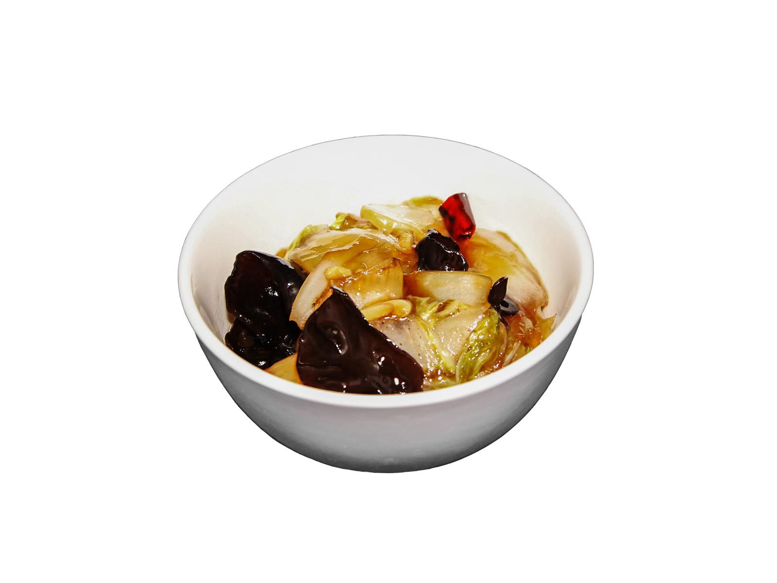 Пекинская капуста в остро-кислом соусе