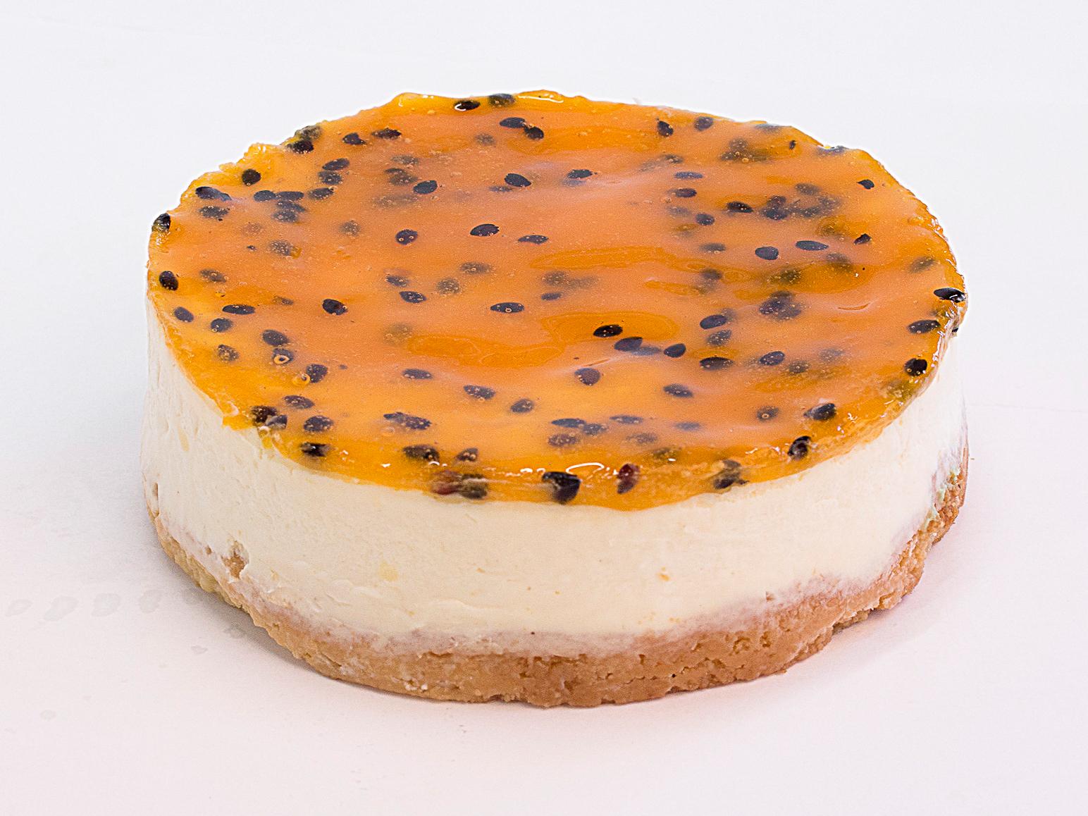Торт Чиз-кейк Маракуйя