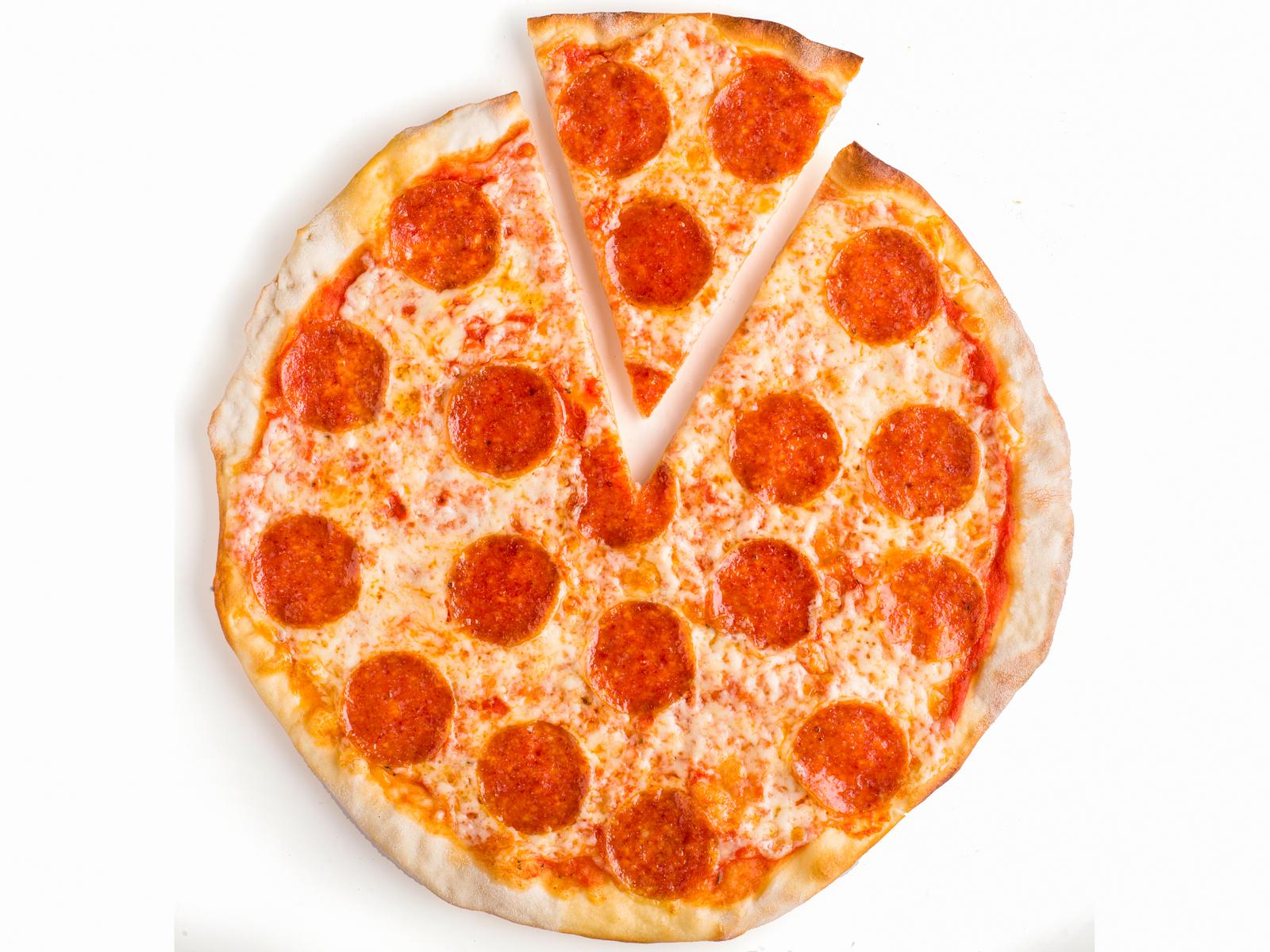 Пицца с салями Пиканте