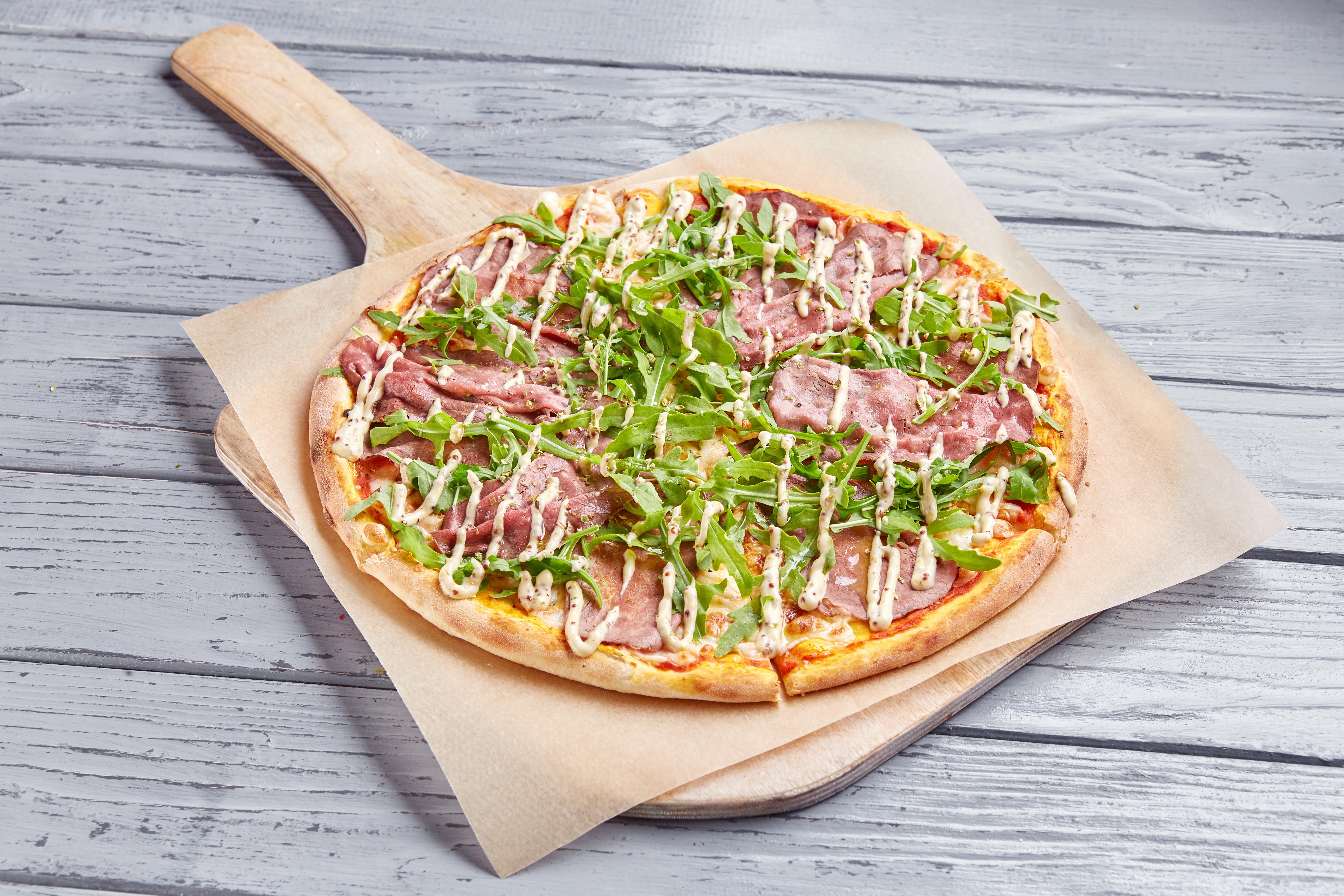 Пицца с Ростбифом