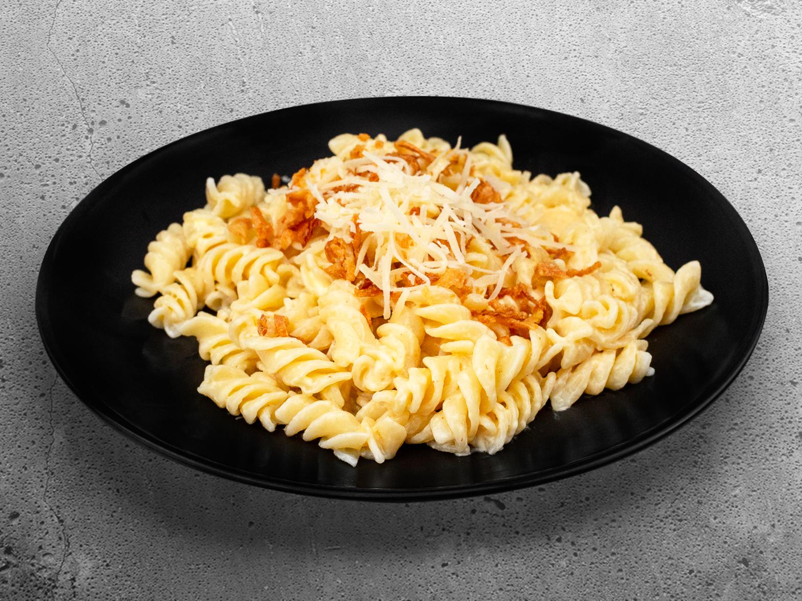 Сырные макароны