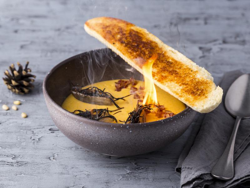 Крем-суп Сырный копченый