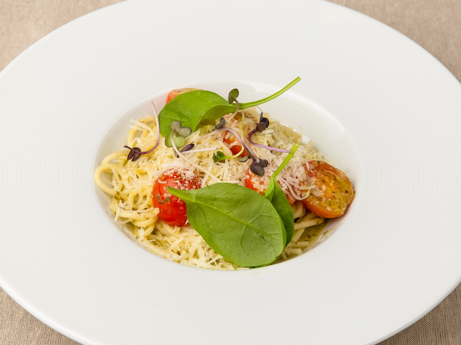 Спагетти Песто