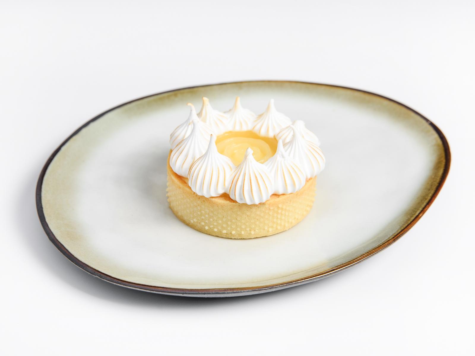 Лимонный тарт с юдзу