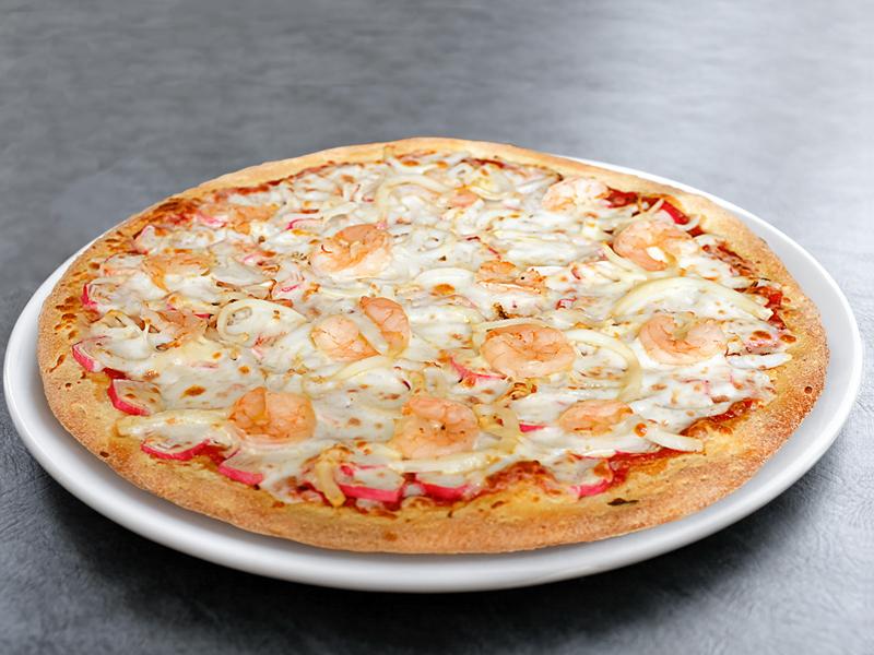Пицца Дары моря маленькая