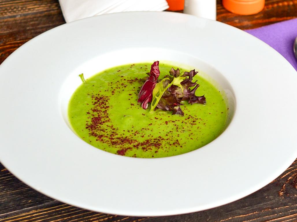 Крем суп из спаржи и цуккини