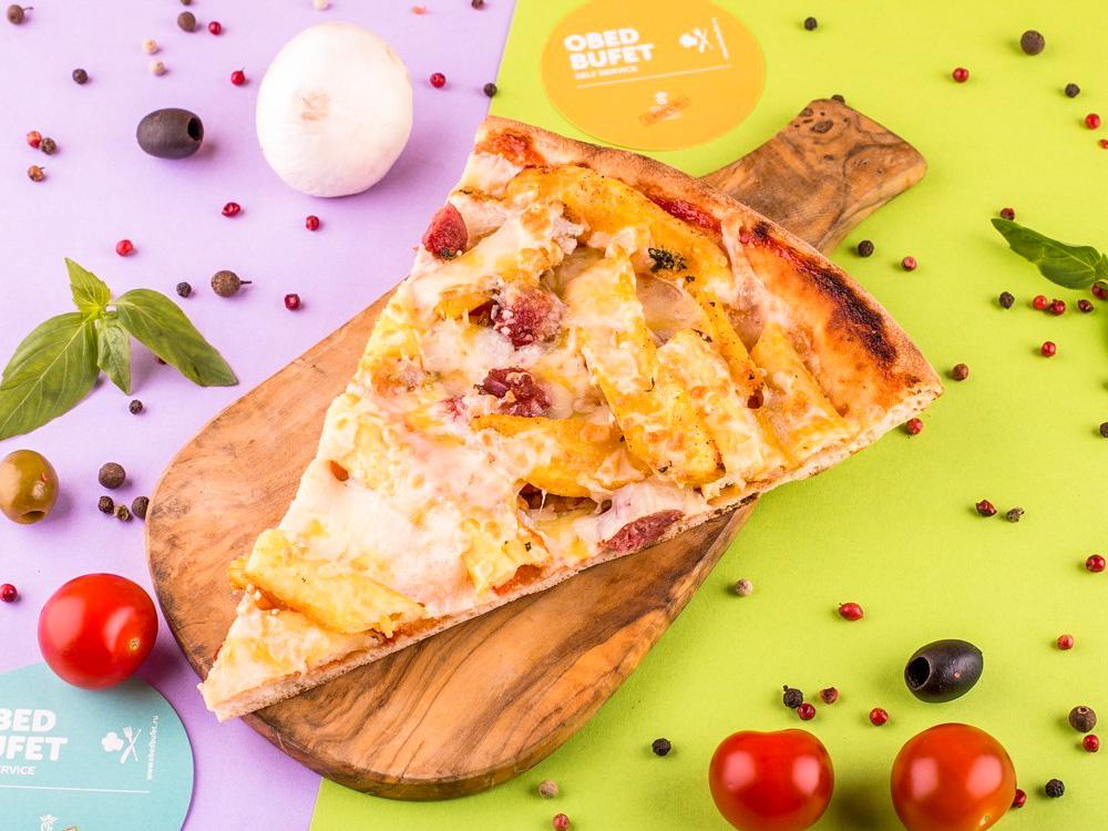 Пицца Болоньезе с фри слайс