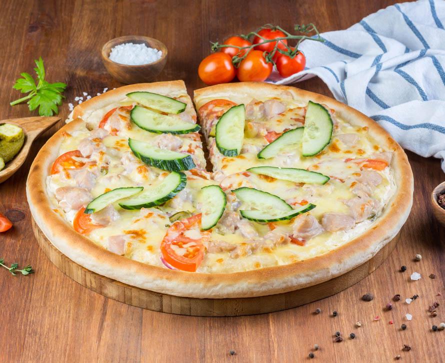 Пицца Шаверма фирменная