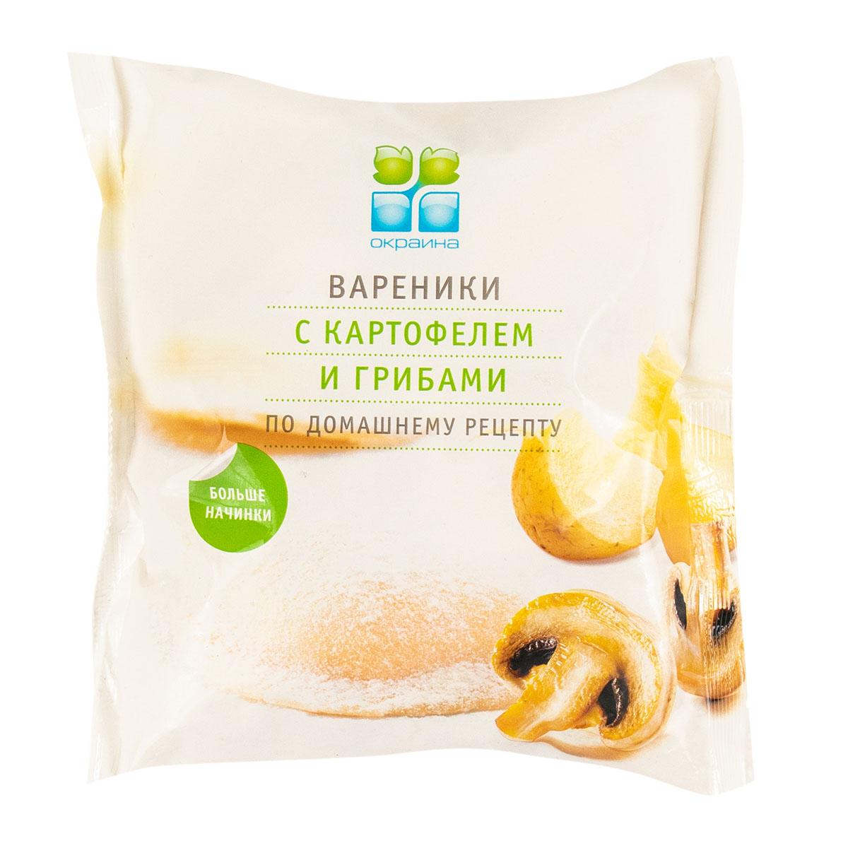«Окраина» с картофелем и грибами