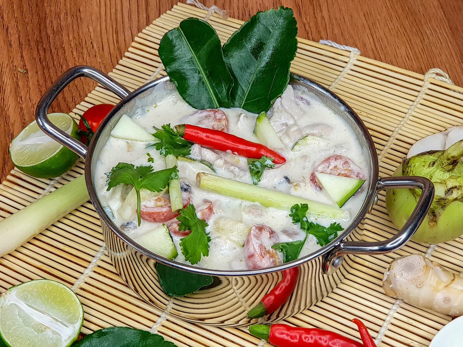 Тайский суп Том-Кха