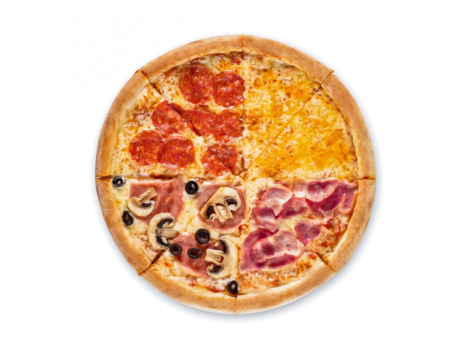 Пицца Кватро