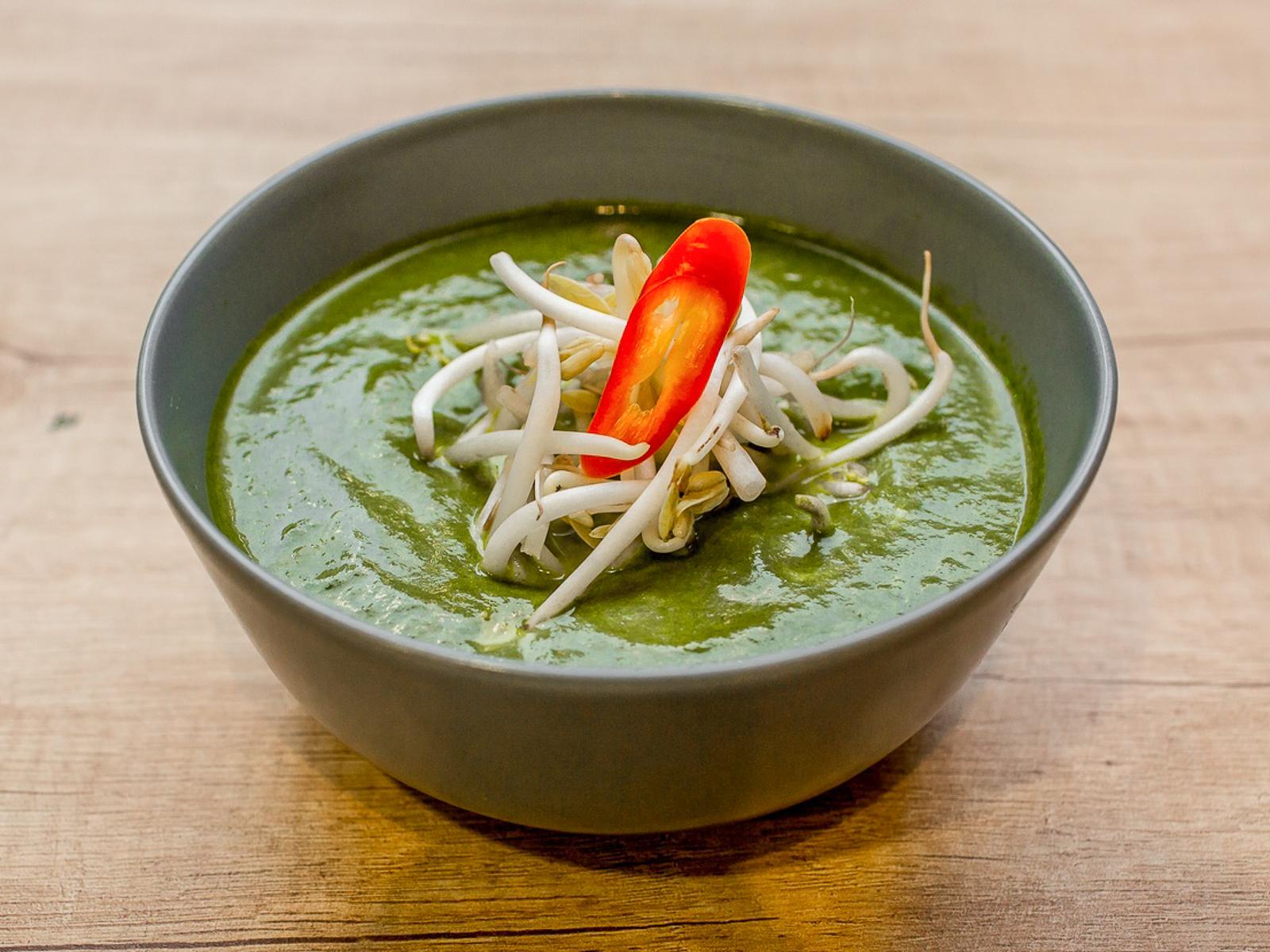 Шпинатный Крем-суп