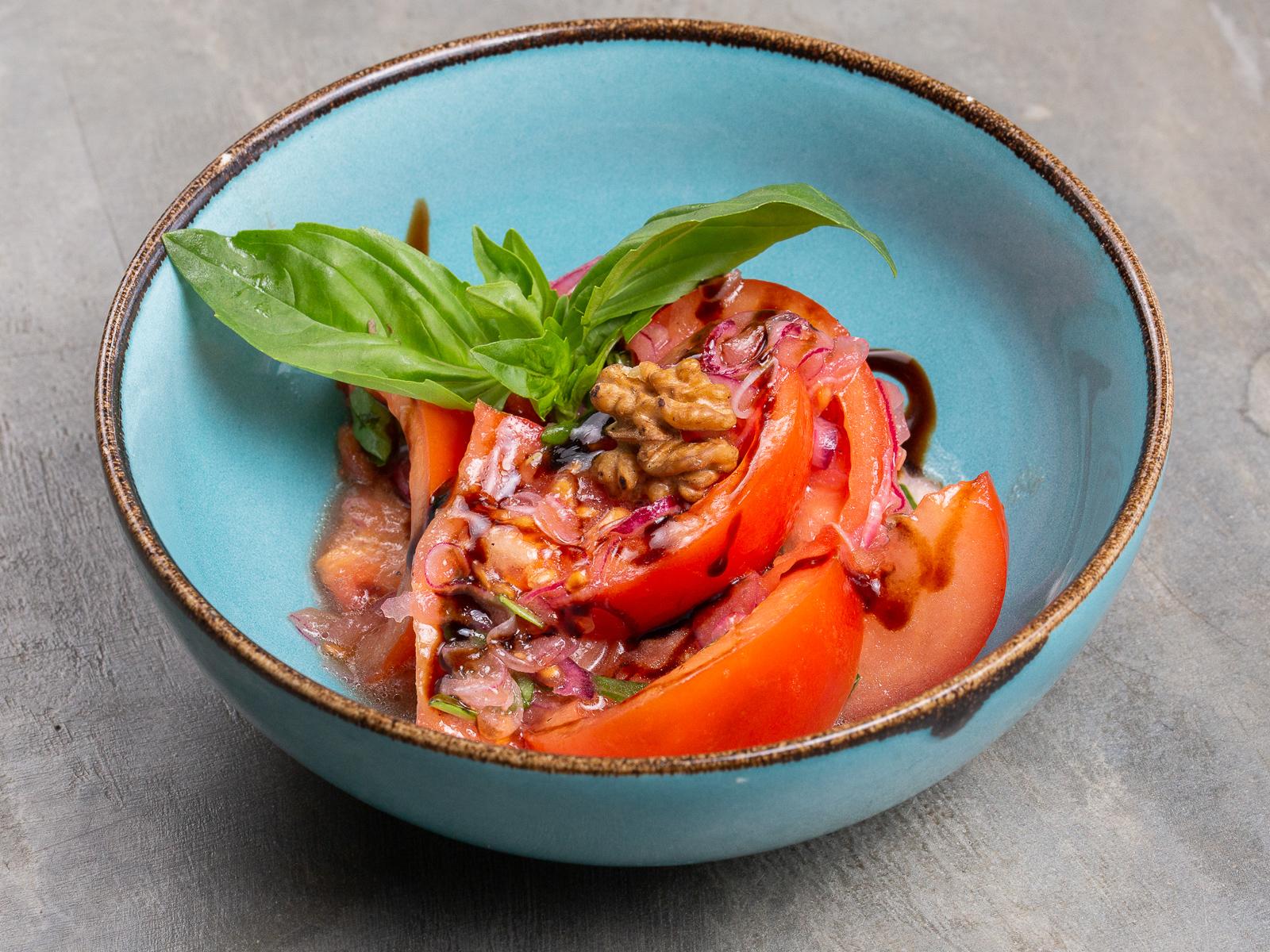 Салат Овощной с томатами