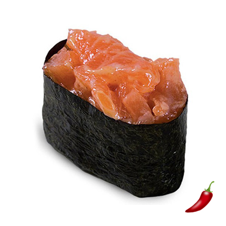 Острый с лососем
