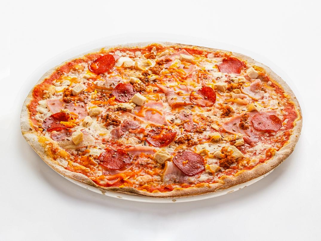 Пицца по-болонски