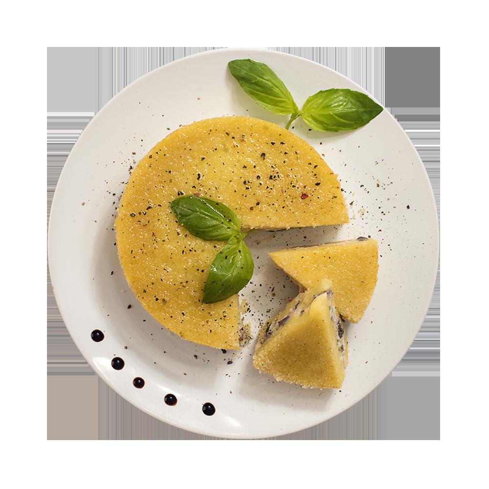 Запеканка картофельная с семгой