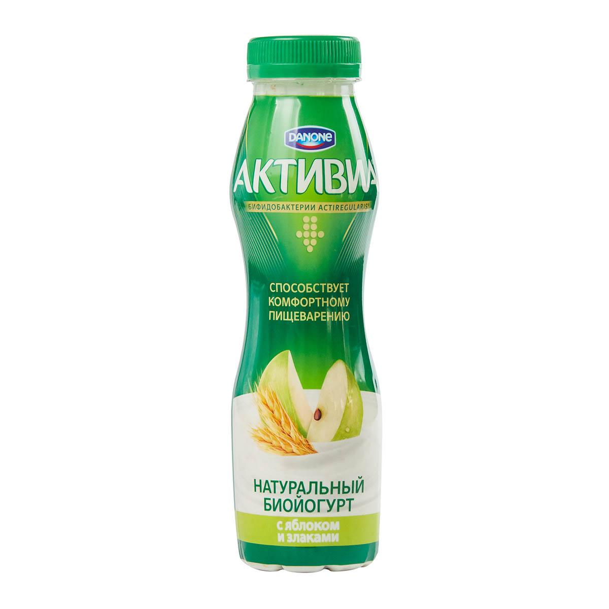 «Активиа» 2,2% яблоко-злаки
