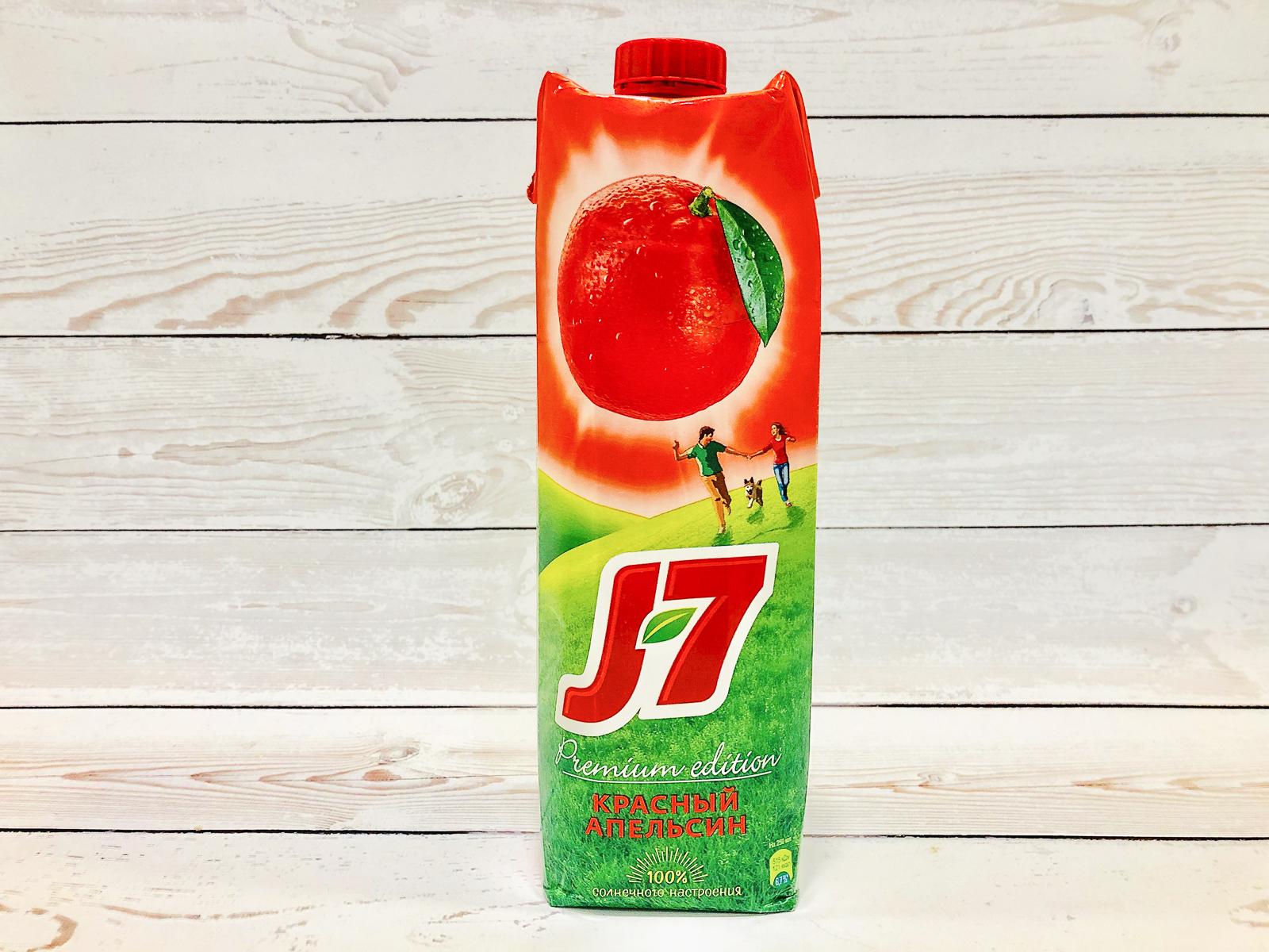 Сок J7 из красного апельсина