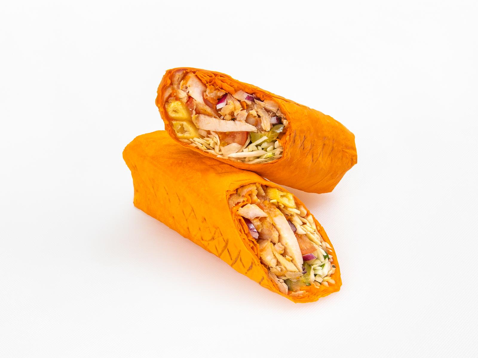 Донер-кебаб в сырном лаваше