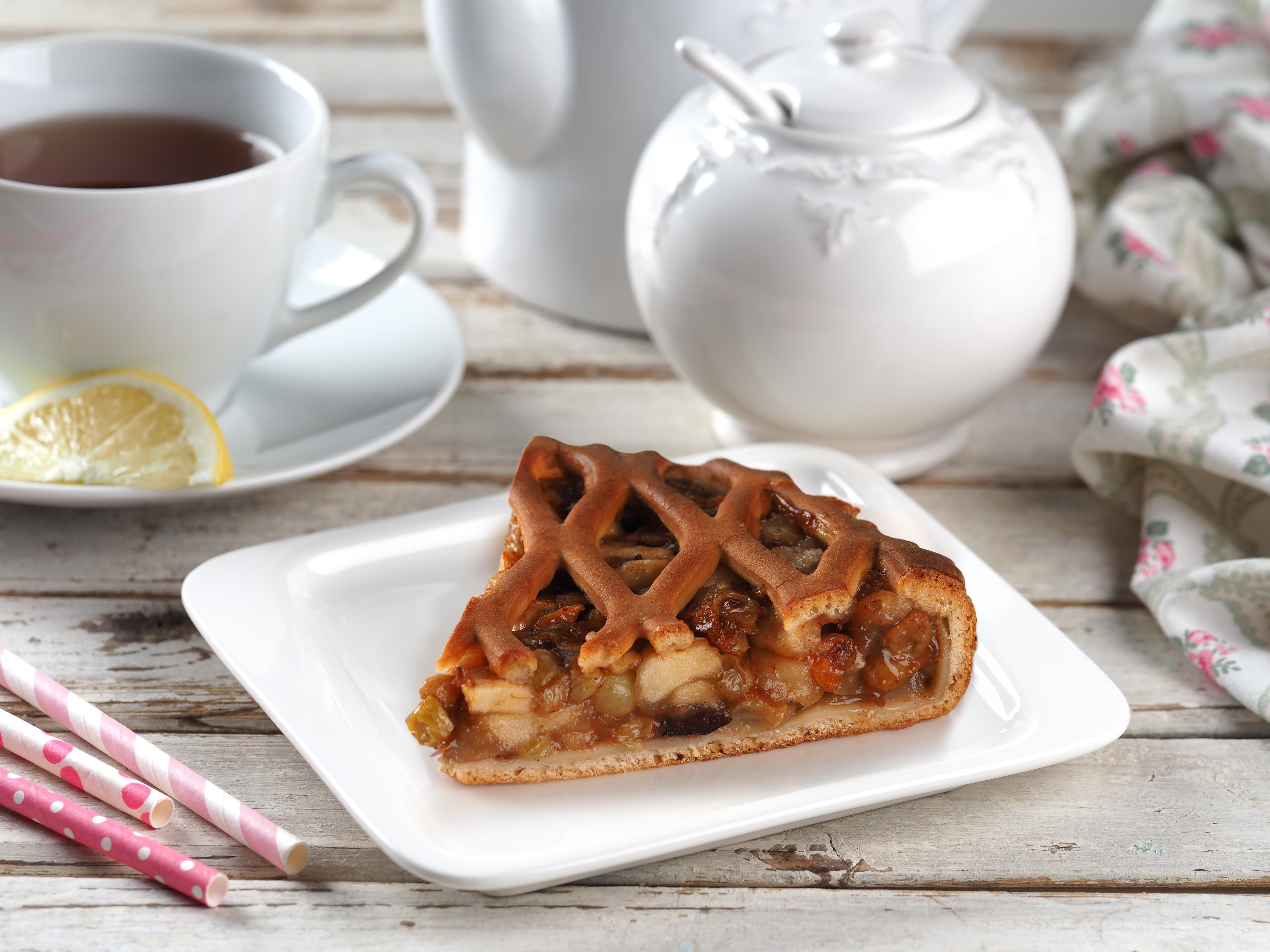 Яблочный пирог (постный)