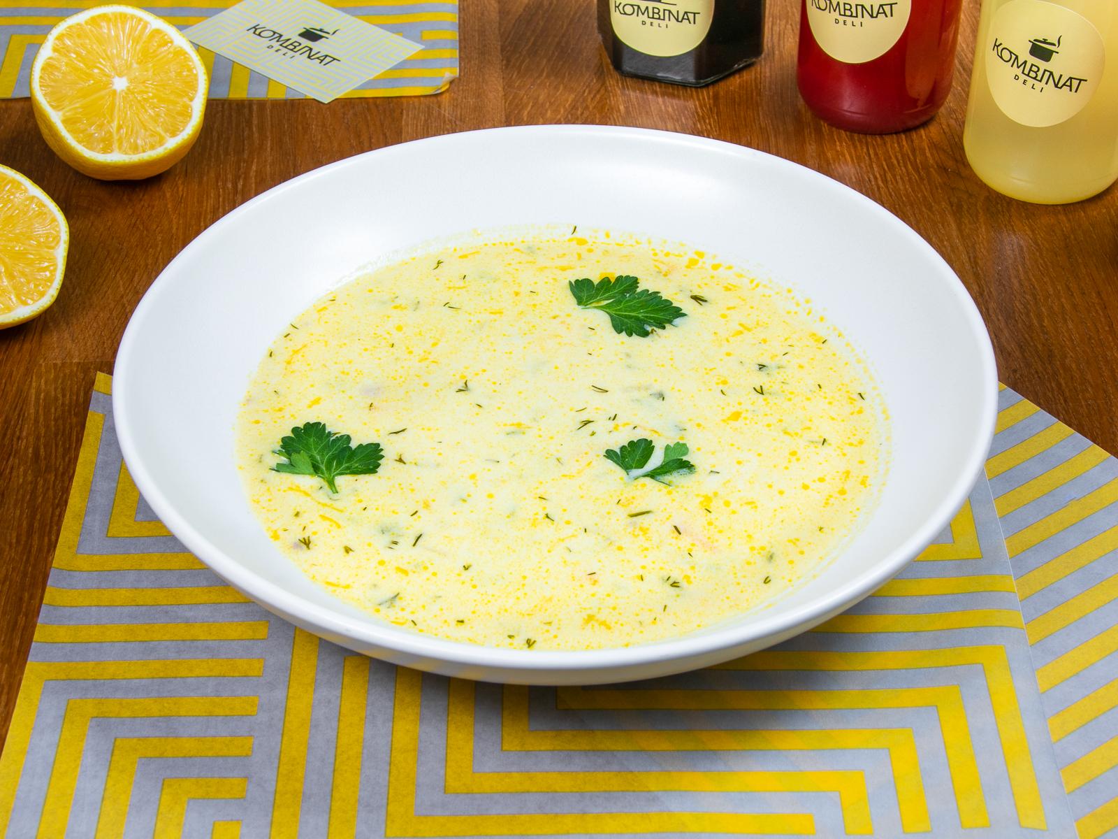 Суп Сырный с курицей