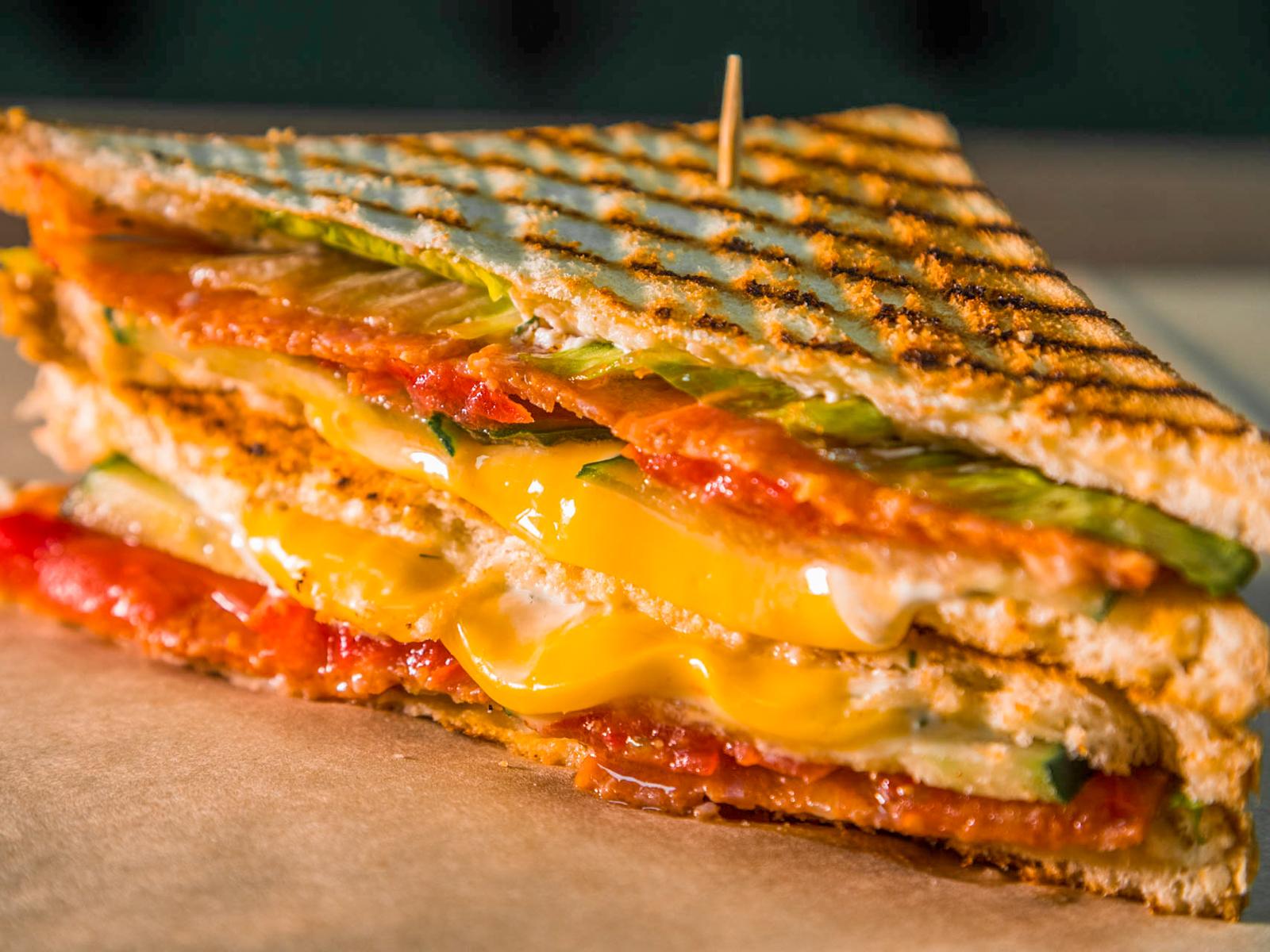 Сэндвич Клаб с пепперони