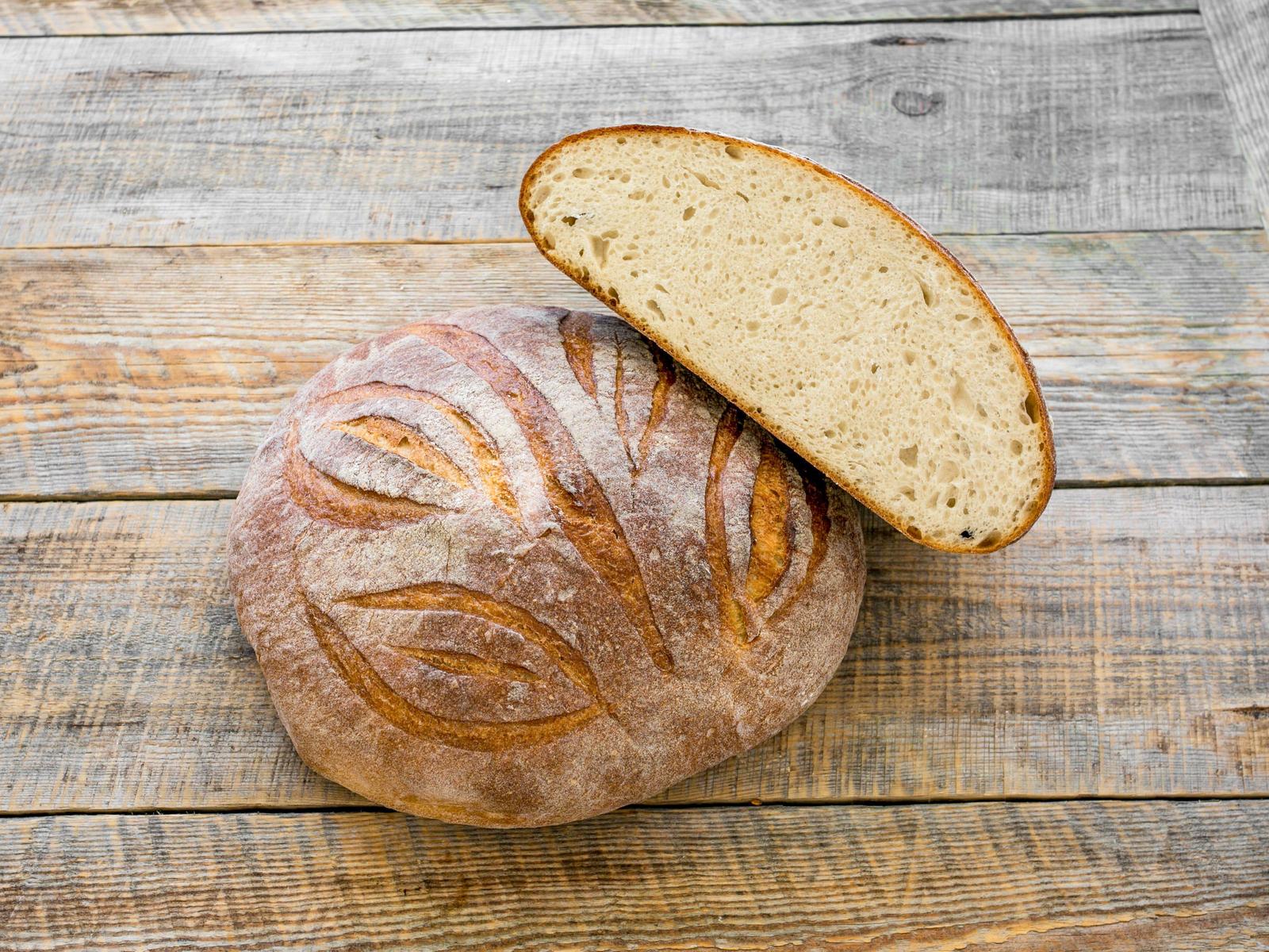 Хлеб Пшеничный на кефире