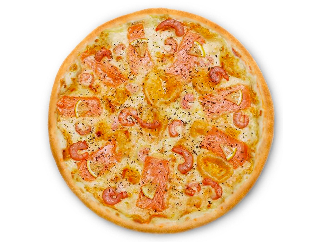 Пицца Семга