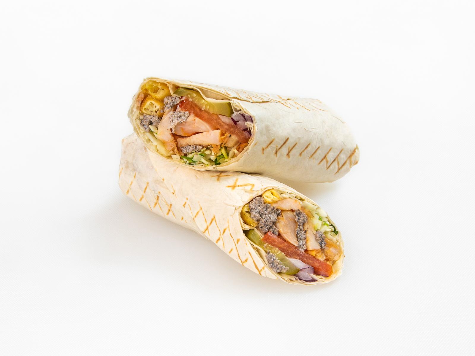 Донер-кебаб с трюфельным соусом