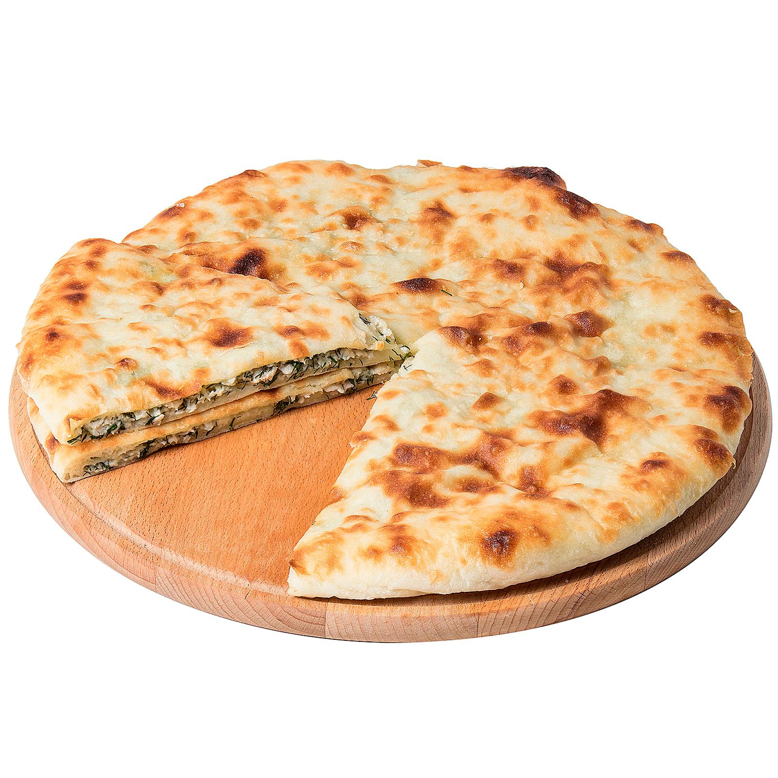 Пирог осетинский с курицей и сыром