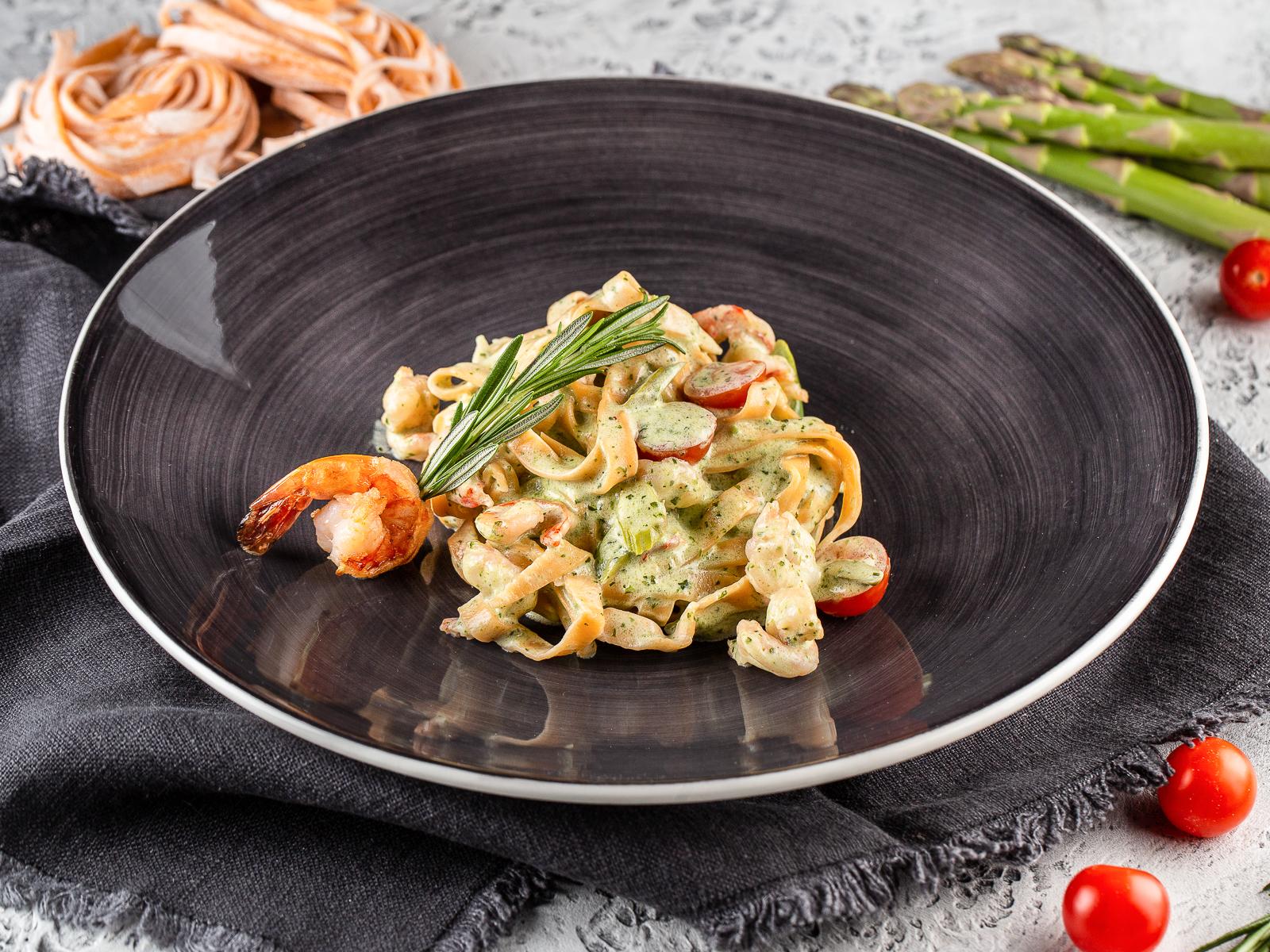Спагетти портофино