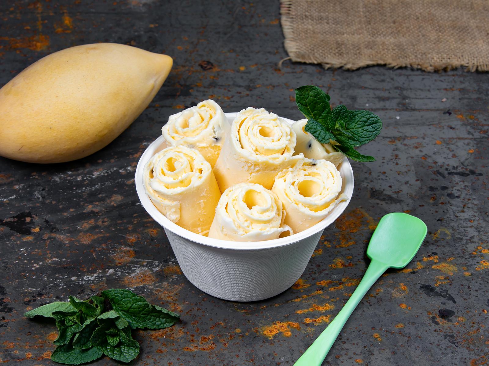 Мороженое Тропический микс Манго-Маракуйя