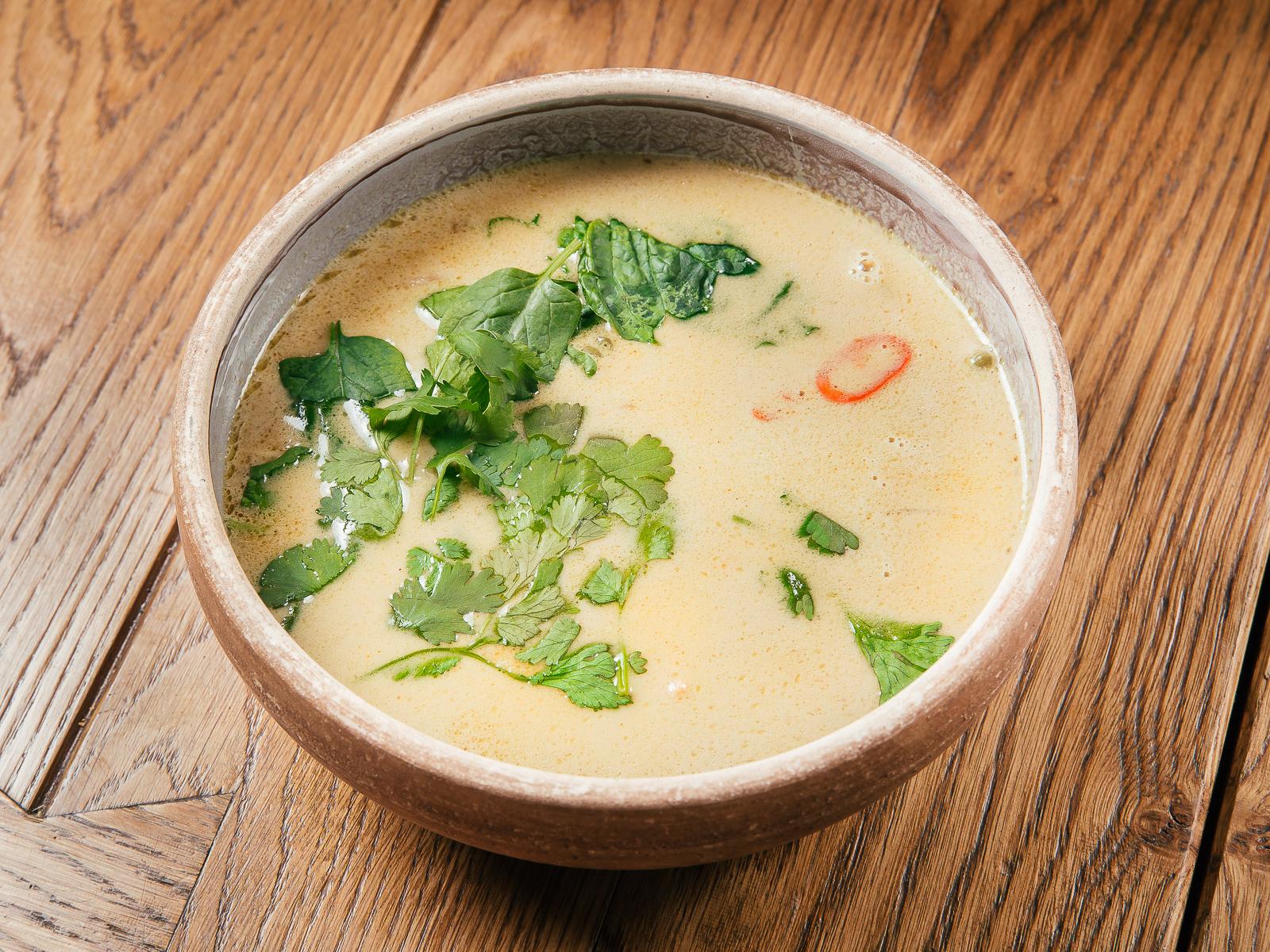 Азиатский рыбный суп Лакса