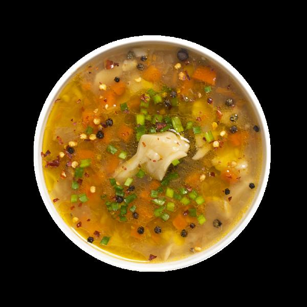 Суп с булгуром и белыми грибами