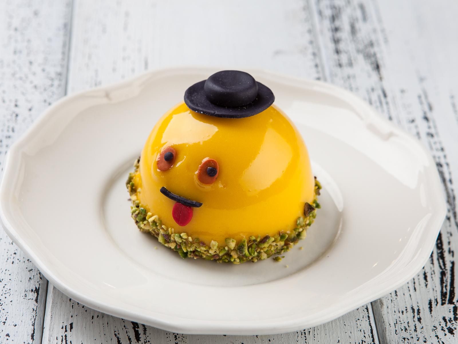 Десерт мусс-маракуйя Смайлик
