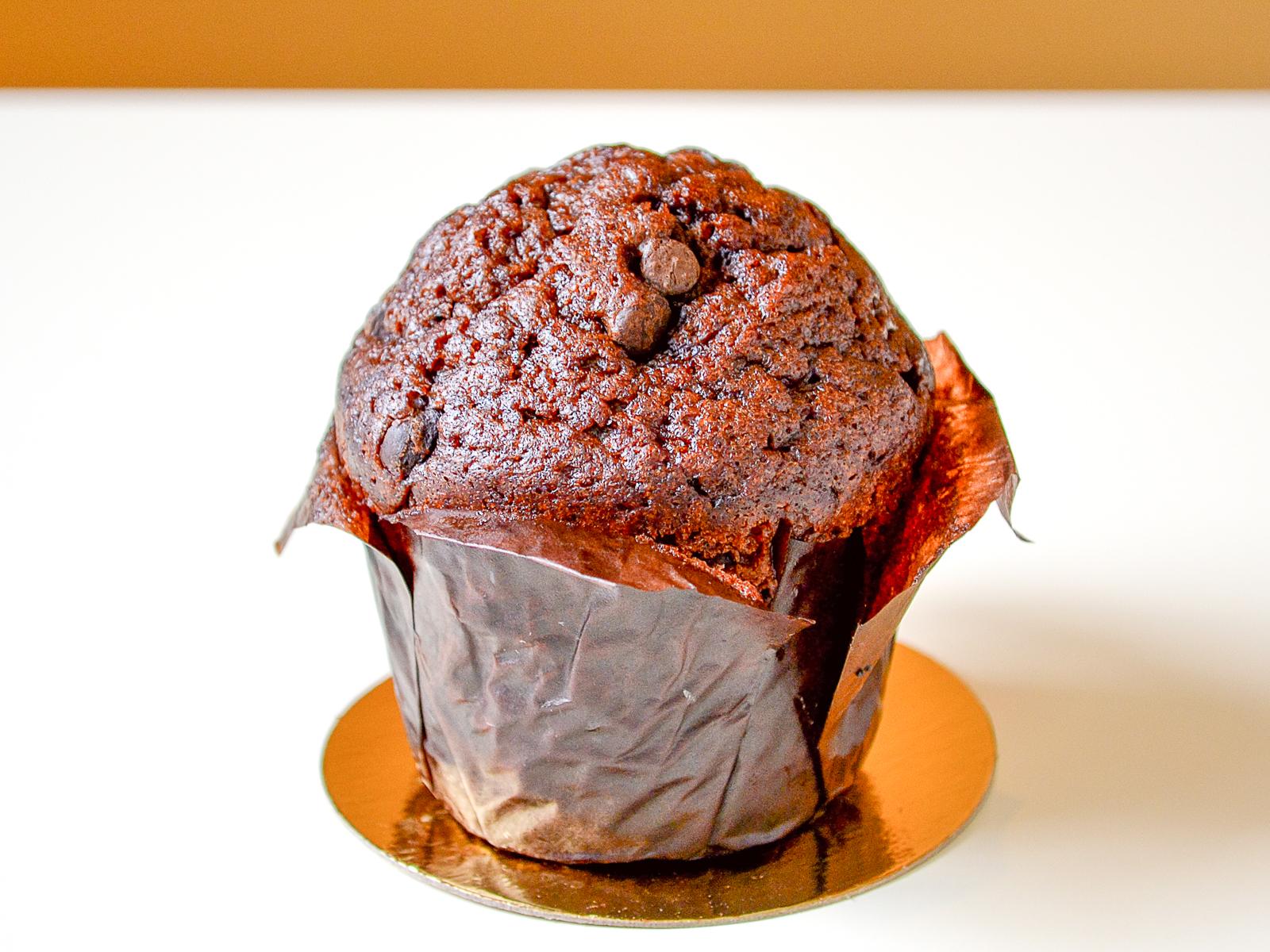 Маффин шоколадный с кусочками шоколада