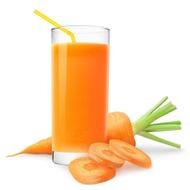Сок морковный свежевыжатый
